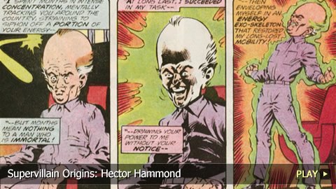 Supervillain Origins: Hector Hammond