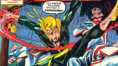 Superhero Origins: Iron Fist