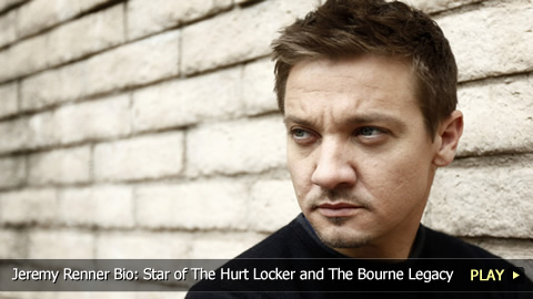 Jeremy Renner Bio: Star of The Hurt Locker and The Bourne Legacy