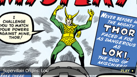 Supervillain Origins: Loki