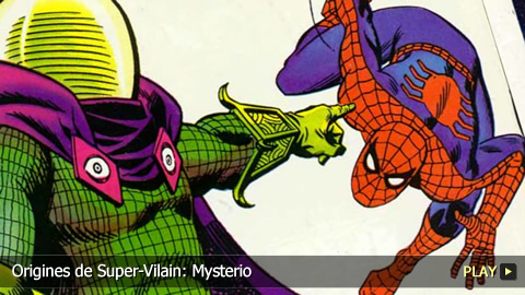 Origines de Super-Vilain: Mysterio