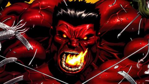 Supervillain Origins: Red Hulk