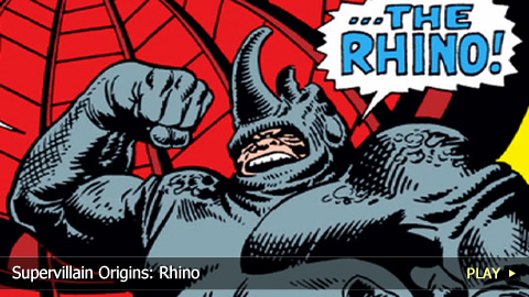 Supervillain Origins: Rhino