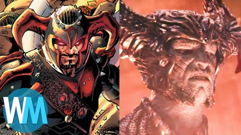 Supervillain Origin: Steppenwolf