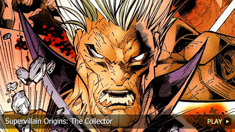 Supervillain Origins: The Collector