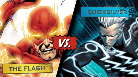 The Flash VS. Quicksilver