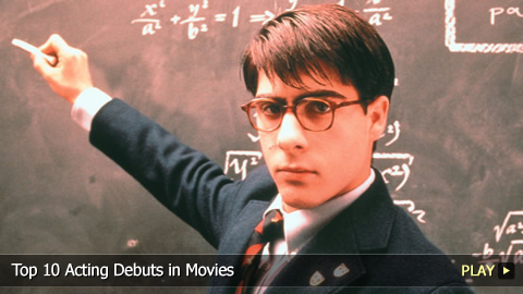 Top 10 Acting Debuts in Movies