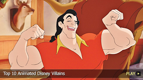 Top 10 Animated Disney Villains