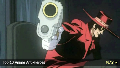 Top 10 Anime Anti-Heroes