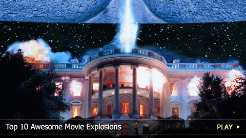 Top 10 Awesome Movie Explosions