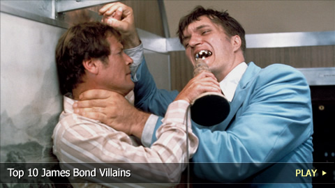 Top 10 James Bond Villains