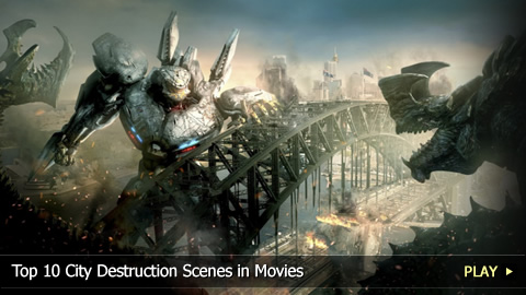 Top 10 City Destruction Scenes in Movies