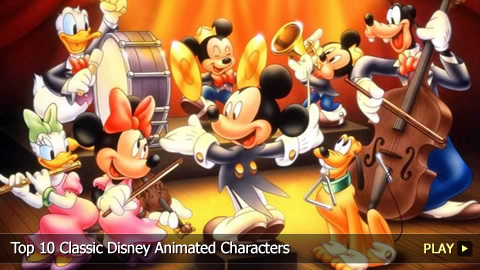 Top 10 Icons Top 10 Classic Disney Animated