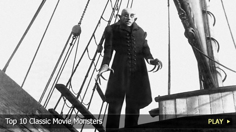 Top 10 Classic Movie Monsters