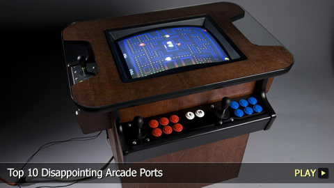 Top 10 Disappointing Arcade Ports