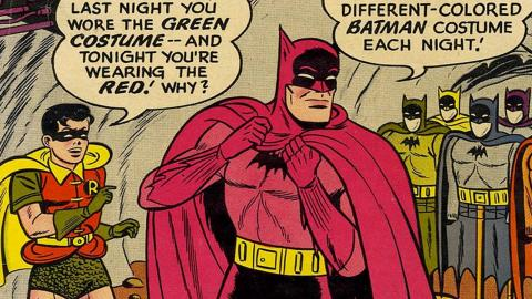Top 10 Dumbest Batman Comics