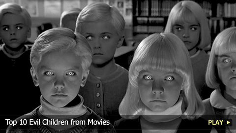 Top 10 Evil Children from Movies