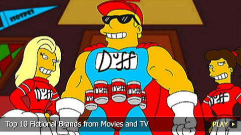 Top 10 Fictional Brands from Movies and TV
