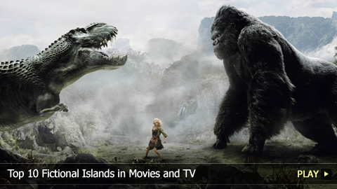 Top 10 Fictional Islands in Movies and TV