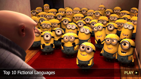 Top 10 Fictional Languages