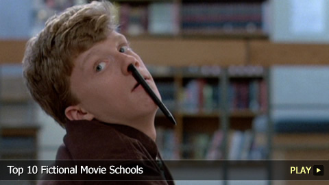 Top 10 Fictional Movie Schools