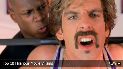 Top 10 Hilarious Movie Villains