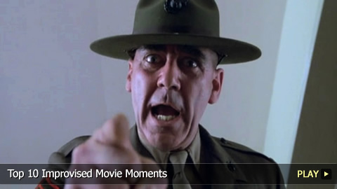 Top 10 Improvised Movie Moments