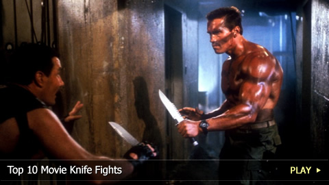 Top 10 Greatest Movie Knife Fights