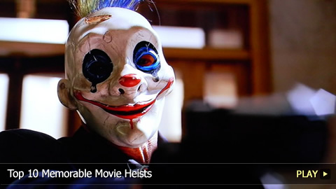 Top 10 Memorable Movie Heists