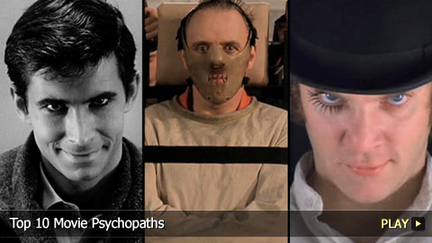 Top 10 Movie Psychopaths