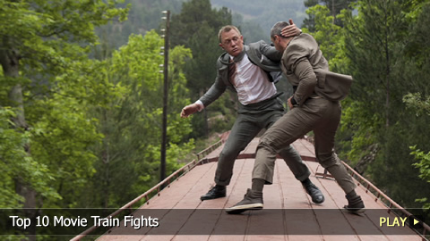 Top 10 Movie Train Fights