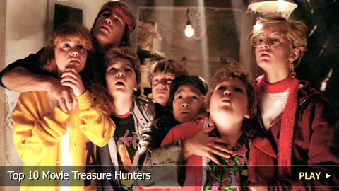 Top 10 Movie Treasure Hunters