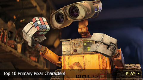 Top 10 Primary Pixar Characters