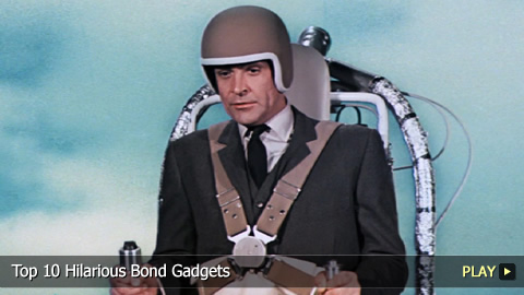 Top 10 Hilarious Bond Gadgets