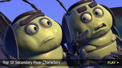 Top 10 Secondary Pixar Characters