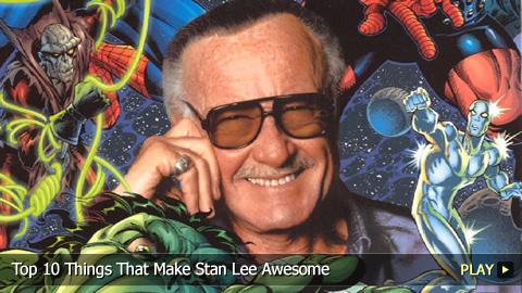 Top 10 Things That Make Stan Lee Awesome