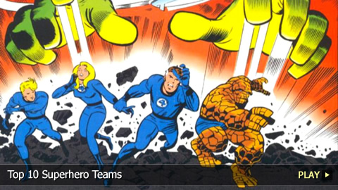 Top 10 Superhero Teams