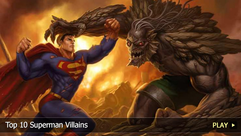 Top 10 Superman Villains