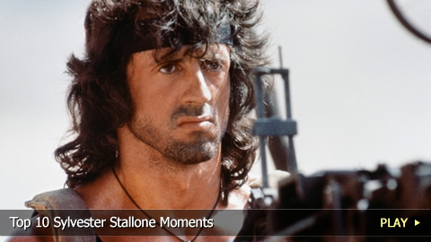 Top 10 Sylvester Stallone Moments