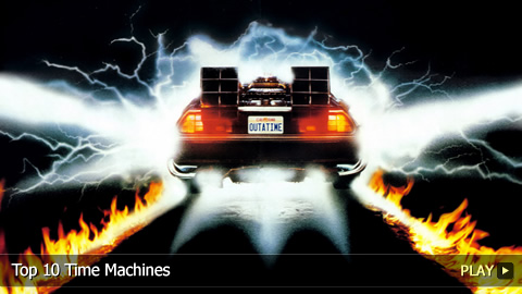 Top 10 Time Machines From Pop Culture