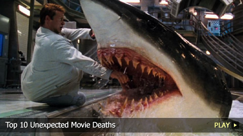 Top 10 Unexpected Movie Deaths