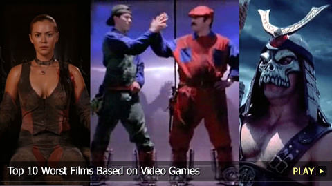 Top 10 Worst Films Based on Video Games