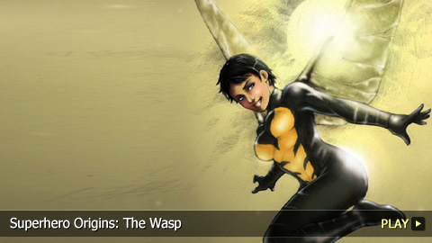 Superhero Origins: The Wasp