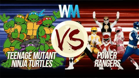 Teenage Mutant Ninja Turtles Vs Power Rangers