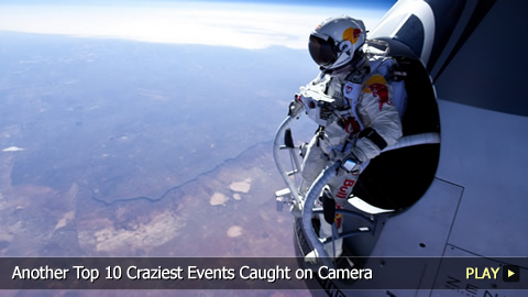 Another Top 10 Craziest Events Caught on Camera