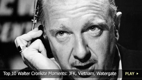 Top 10 Walter Cronkite Moments: JFK, Vietnam, Watergate