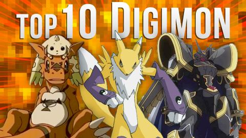 Top 10 Digimon