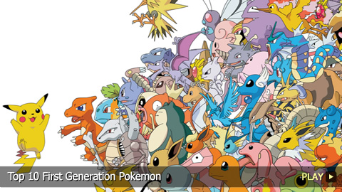 Top 10 Best First Generation Pokemon