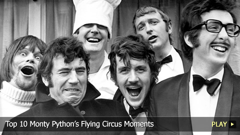Top 10 Monty Python's Flying Circus Moments