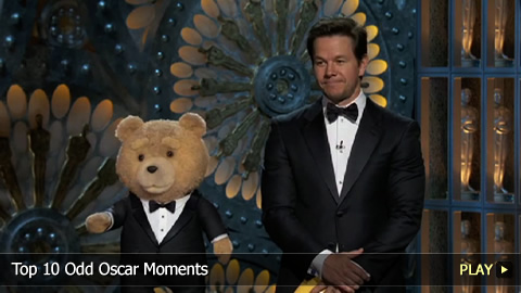 Top 10 Odd Oscar Moments